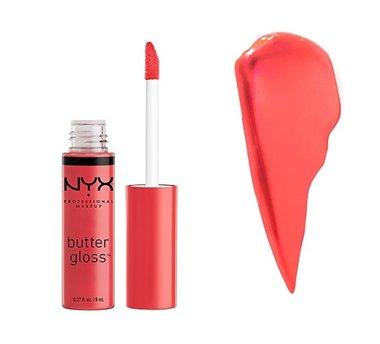 NYX Butter Gloss Lipgloss - BLG 28 Pink Buttercream