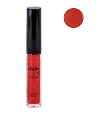 NYX Girls Round Lip Gloss - RLG 18 Frosted Red