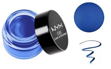 NYX Gel Liner & Smudger - GLAS04 Samantha - Cobalt Blue