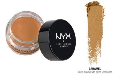 NYX Full Coverage Concealer Jar - CJ06.7 Caramel