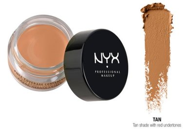 NYX Full Coverage Concealer Jar - CJ07 Tan