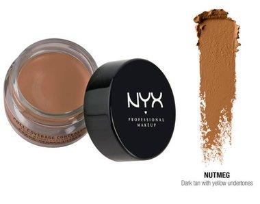 NYX Full Coverage Concealer Jar - CJ08 Nutmeg