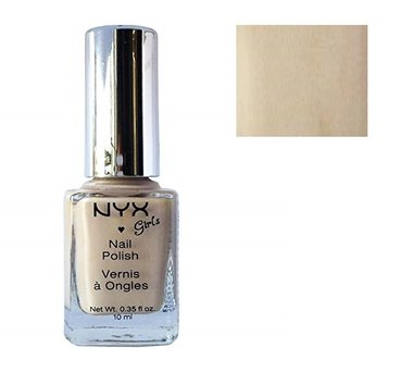NYX Girls Nail Polish - NGP261 Bone White