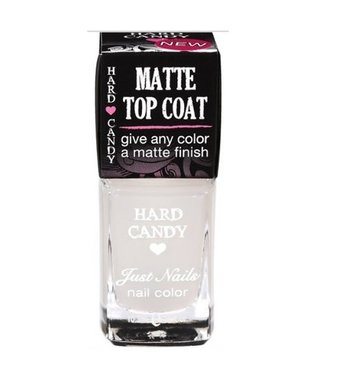 Hard Candy Matte Top Coat - Just Nails Nail Color - 324  Matte-ly In Love
