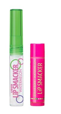Lip Smacker Duo - 022 Watermelon Clear Gloss & Strawberry Watermelon Balm
