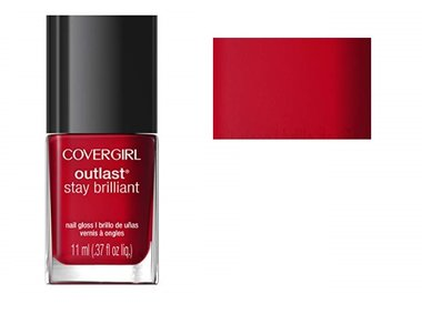 CoverGirl Outlast Stay Brilliant Nail Gloss - 100 Red-dy and Willing