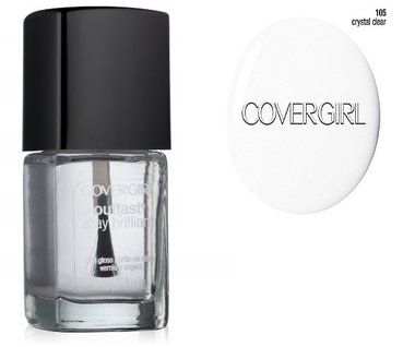 CoverGirl Outlast Stay Brilliant Nail Gloss - 105 Crystal Clear