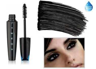L'Oreal Paris Voluminous Extra-Volume Collagen Waterproof Mascara - 695 Blackest Black