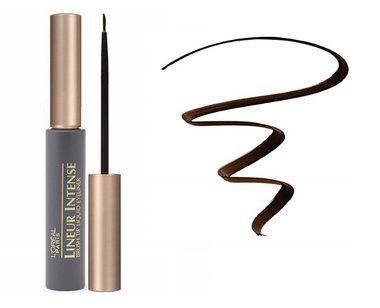 L'Oreal Paris Lineur Intense Brush Tip Liquid Eyeliner - 720 Brown
