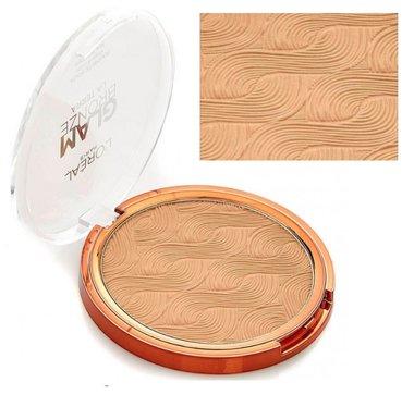 L'Oréal Paris Glam Bronze Powder - Bronzer for Face & Body - 02 Medium