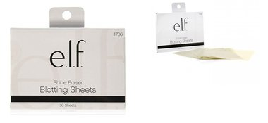e.l.f. Cosmetics Shine Eraser Blotting Sheets - Green Tea Extract - 30 Sheets
