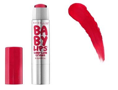 Maybelline Baby Lips Color Balm Crayon - 25 Refreshing Red - Lippenbalsem
