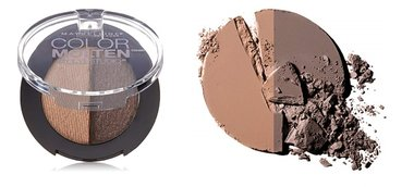 Maybelline Color Molten Cream Powder Eyeshadow - 302 Endless Mocha