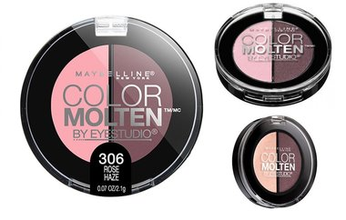 Maybelline Color Molten Cream Powder Eyeshadow - 306 Rose Haze