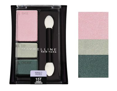 Maybelline Expert Wear Eyeshadow Trios Perfect Pastels - 15T Green Gardens