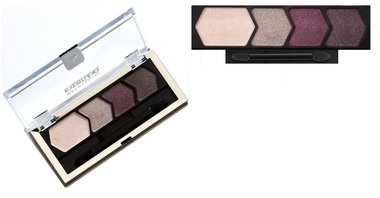 Maybelline Eyestudio Color Plush Silk Eyeshadow Quad Palette - 120 Violet Femmes