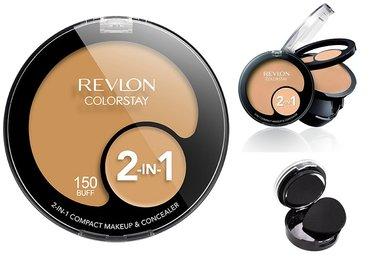 Revlon ColorStay 2-in-1 Compact Makeup & Concealer - 150 Buff