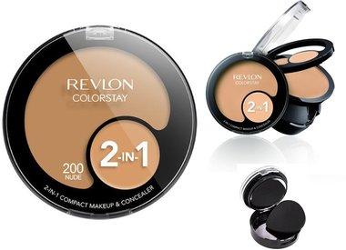 Revlon ColorStay 2-in-1 Compact Makeup & Concealer - 200 Nude