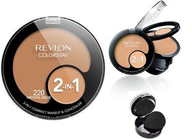 Revlon ColorStay 2-in-1 Compact Makeup & Concealer - 220 Natural Beige