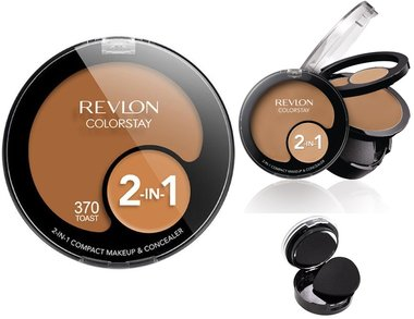 Revlon ColorStay 2-in-1 Compact Makeup & Concealer - 370 Toast