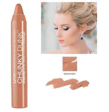 NYX Chunky Dunk Hydrating Lippie Lipcolor - CDHL02 Peach Fuzzy