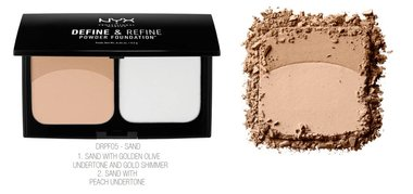 NYX Define & Refine Powder Foundation - DRPF05 Sand