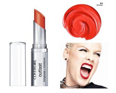 Covergirl Outlast Longwear Lipstick + Moisture  - 915 Red Siren