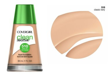 Covergirl Clean Sensitive Skin Foundation - 510 Classic Ivory