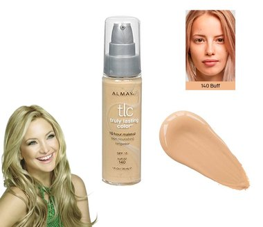 Almay TLC Truly Lasting Color 16 Hour Makeup Foundation - 140 Buff