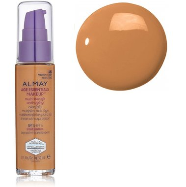 Almay Age Essentials Makeup Multi Benefits Anti-Aging - 180 Medium Deep