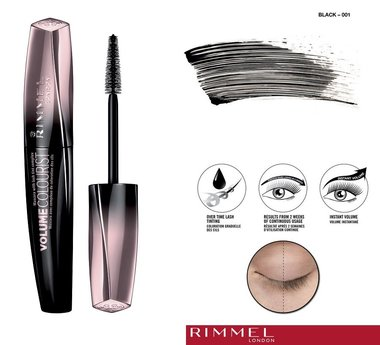 Rimmel London Volume Colourist Mascara - 001 Black