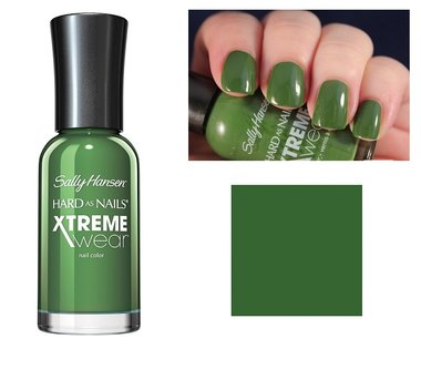 Sally Hansen Hard As Nails Xtreme Wear Nail Color - 330 Green Thumb