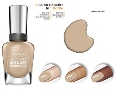 Sally Hansen Complete Salon Manicure Nail Color - 315|361 Camelflage