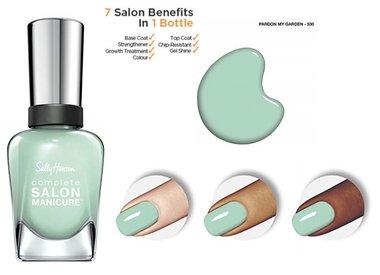 Sally Hansen Complete Salon Manicure Nail Color - 530 Pardon My Garden