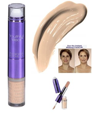 Physicians Formula Youthful Wear Cosmeceutical Youth-Boosting 3-in-1 Concealer - 7585 Light+Light