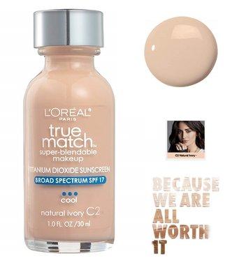 L'Oréal Paris True Match Super Blendable Makeup Foundation - C2 Natural Ivory