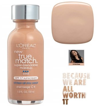 L'Oréal Paris True Match Super Blendable Makeup Foundation - C4 Shell Beige