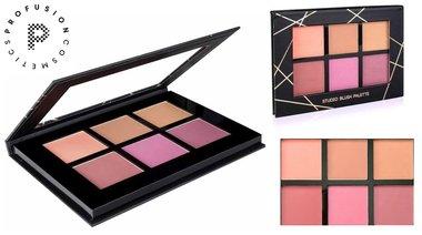 Profusion Studio Blush Palette - 6 Color Blush
