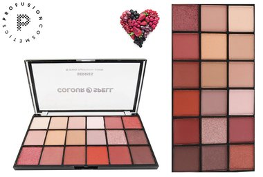 Profusion Colour Spell Berries - 18 Shade Eyeshadow Palette