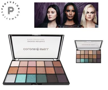 Profusion Colour Spell Smoked Neutrals - 18 Shade Eyeshadow Palette