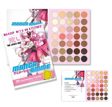 Rude Cosmetics Manga Anime - 35 Eyeshadow Palette