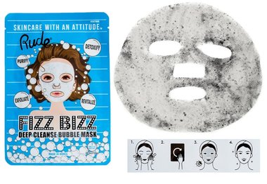 Rude Cosmetics Fizz Bizz Deep Cleanse Bubble Mask