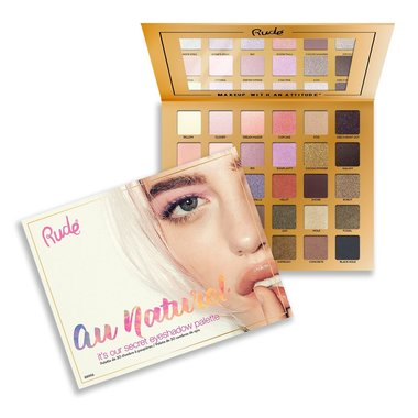 Rude Cosmetics Au Naturel - 30 Eyeshadow Palette