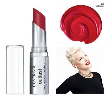 Covergirl Outlast Longwear Lipstick + Moisture  - 925 Red Rogue