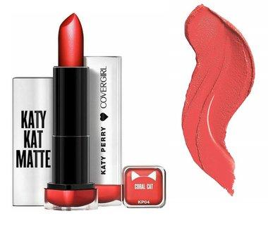 Covergirl Katy Kat Matte Lipstick - KP04 Coral Cat