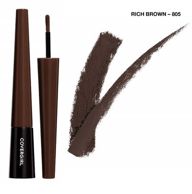 Covergirl Easy Breezy Brow Fill + Shape + Define Powder Eyebrow Makeup - 805 Rich Brown