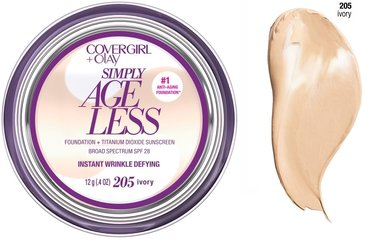 Covergirl & Olay Simply Ageless Instant Wrinkle Defying Foundation SPF 28 - 205 Ivory