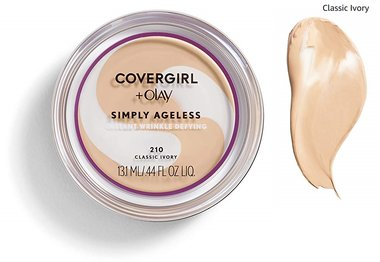 Covergirl & Olay Simply Ageless Instant Wrinkle Defying Foundation SPF 28 - 210 Classic Ivory