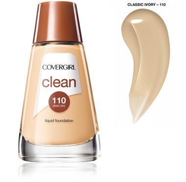 Covergirl Clean Normal Skin Foundation - 110 Classic Ivory