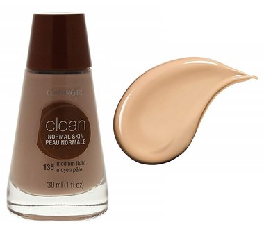 Covergirl Clean Normal Skin Foundation - 135 Medium Light